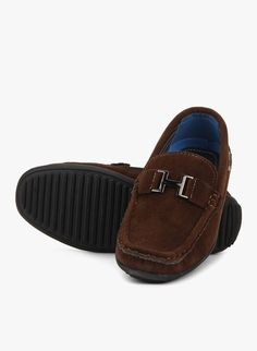Buy Loafers for Boys Baby - Footwear - Boys Brown Loafers Online India | The Little Shopper