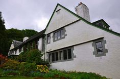Voysey house in the English Lake District Arts And Crafts House, Home Crafts, Flat Color, Lake District, Metal Working, My Dream, Art Nouveau, Colours, Mansions