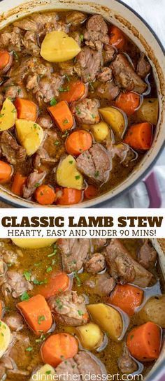 Lamb Casserole Recipes, Stew Meat Recipes, Cooking Recipes, Slow Cooker Lamb Recipes, Healthy Lamb Recipes, Lamb Stew Slow Cooker, Recipes Using Lamb, Cooking Cake, Chowder Recipes