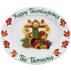 Thanksgiving Ceramic Platters