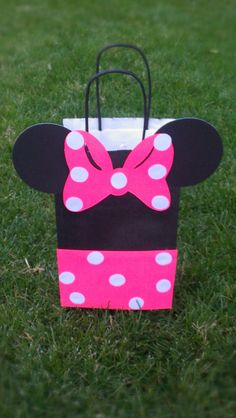 Minnie Mouse Party Bag by MagicalBoutique on Etsy, $17.50
