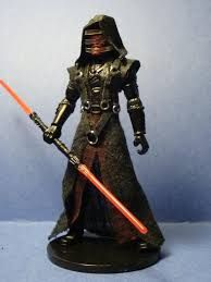 Star Wars SW Black Series 6in Darth Nihulis Enlarged Custom Cast head