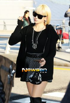 CL | at Incheon Airport (11.29.2012)