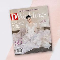 on stands today! pick your copy of @d_weddings and see the 'trunkshow scoop' on our upcoming events and more! | we see you @misshayleypaige