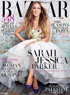Sarah Jessica Parker - Bazaar Arabia (Dic2014)_1 #SarahJessicaParker #Magazine #Bazaar
