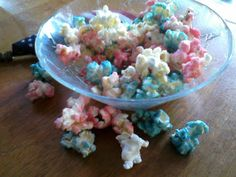 Plain Graces: How To Make Colored Popcorn