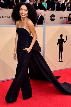 Yara Shahidi, Black-ish, Grown-ish - Young black stars you need to know Beautiful Dresses, Nice Dresses, Short Dresses, Black Actresses, Young Black, Celebrity Look, Celeb Style, Celebrity Outfits, Black Star