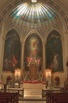 St Patrick's Church, New Orleans  I attend mass here weekly, a magnificent church that still celebrates the Latin mass.
