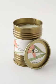Favorite Candle: Illume Good Nature Tin in Coconut Milk Mango