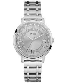 Guess Women's Stainless Steel Bracelet Watch 40mm U0933L1 - Silver