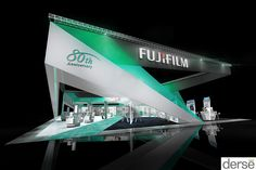 Fujifilm 80th Anniversary Booth Concept Renders on Behance