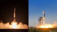 Commercial Space Race Propelled by Musk vs. Bezos Rocket Competition