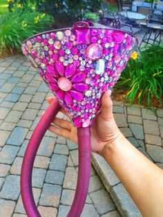 The funnel I made for my best friend's birthday. Perfect DIY for the birthday party.