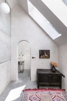 Tonalités wabi sabi et matières brutes    Tiverton Road Londres NW10 par Takero Shimazaki Architects