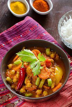 Schnell gekocht: Marokkanisches Gemüse-Curry