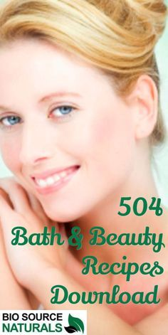 Download 504 Bath & Beauty Recipes using natural ingredients, including our pure essential oils.