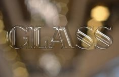 Shiny Glass Text Effect in Photoshop
