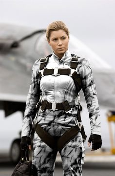 Jessica Biel - I'm all about supporting our troops.