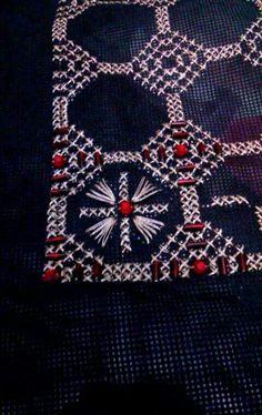 νικολετα αλεξ Palestinian Embroidery, Elsa, Diy And Crafts, Quilts, Blanket, My Love, Rugs, Home Decor, Pattern