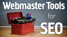 Webmaster Tools for SEO - Complete Guide Webmaster Tools, Search Tool, Search Engine Marketing, Search Engine Optimization, Online Marketing, Storage Chest, Seo, Google, Social Media