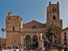 La Catedral de Monreale (Sicilia), una joya normanda, árabe, románica y geométrica.   Matemolivares