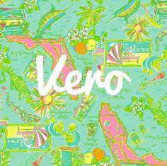 Sweet print of Vero Beach, FL
