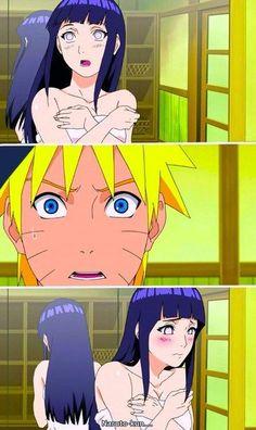 NaruHina Tinha que ser o pervertido do Naruto não sabe bate a porta antes de entrar não