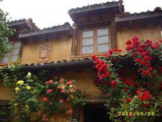 C.T.R.EL CAZ DEL MOLINO (Segovia) Entrada principal.