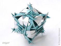 Origami Paper Folding, Origami And Kirigami, Origami Art, Origami Modular, Origami Cube, Paper Art Projects, Paper Crafts, Japanese Origami, Geometric Sculpture