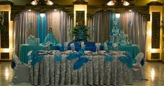 photos of texas quinceanera decorations | quinceanera reception houston texas butterflies turquoise 5 | Flickr ...