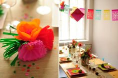 Hey Look: A MEXICAN FIESTA SETTING