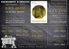 Le B.M.S. AIKIDO du Blanc-Mesnil change d'adresse à partir de Septembre 2017.  Dojo du Parc (dojo éphémère), 201 avenue Aristide Briand, 93150 Le Blanc-Mesnil. http://www.aikido-budo.fr/blanc-mesnil/plan-dacces/  #aikido #aikiken #aikijo #bukiwaza #aiki #aikidoka #hakama #bokken #bokuto #artmartial #budo #stageaikido #aikikai #passagedegrade #dan #sensei #senpai #kohai #tori #uke #aite