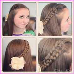 cool Cute easy hairstyles for long hair school step by