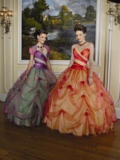 so romantic! they look like princesses from a fairy tale! Do you think I can wear this to work?
