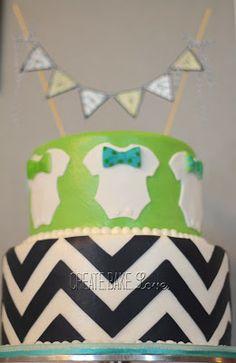 Bow-tie Baby Shower Cake Create. Bake. Love.: Baby Crosby