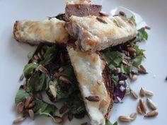 Salat Chevre Chaud - nemt og lækkert