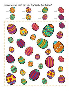 Easter I Spy Game {free Easter printables} - Gift of Curiosity Easter Egg Hunt Games, Easter Activities, Preschool Crafts, Easter Crafts, Holiday Crafts, Class Activities, Easter Worksheets, Easter Printables, I Spy Games