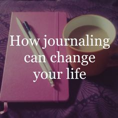 When I first picked up my journal and my pen, it was simply to note my thoughts and feelings. I had no idea that journaling would create profound changes.