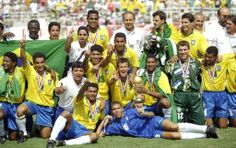 World Cup Winners - 1994 Brazil National Team.