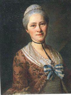 Portrait de femme - Alexandre Roslin, 1765, Versailles, Musée Lambinet