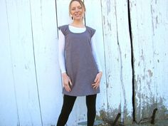 Organic Linen Rabbit Shift by consciousclothing on Etsy, $125.00