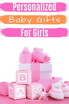 Personalized Baby Gifts for Girls - Baby Girl Gift Ideas for Baby Showers, Birthday and Christmas