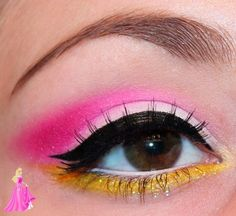 Sleeping Beauty Eye Makeup