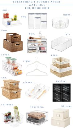 Kitchen Organisation, Organization Station, Home Organization Hacks, Organizing Your Home, The Home Edit, Staying Organized, Home Hacks, My New Room, Clean House