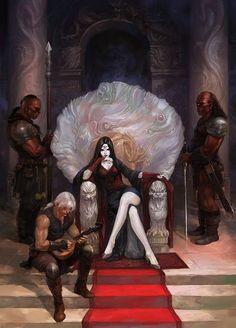 """""""Tú pudiste tener todo esto, Bruja Cero"""" canturreó la fría vampira """"Incluso rechazaste a Amon, prefiriendo la soledad""""."""