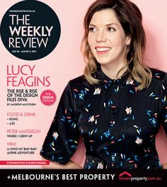 Lucy Feagins for 29 July 2015 cover. Photo: Jules Tahan.