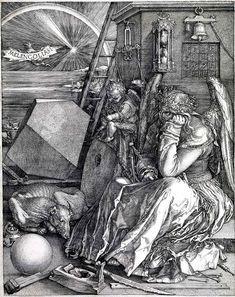 Melencolia I (Durero) - Melencolia I – Wikipedia