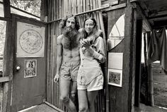 12. Johnny and Marie at home
