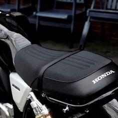 Honda Motorcycles, Custom Motorcycles, Custom Bikes, Motorcycle Seats, Bike Seat, Honda 1100, Moto Cafe, Cafe Racer Honda, New Honda