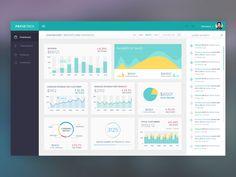 Paymetric: Dashboard Design by Naresh Kumar